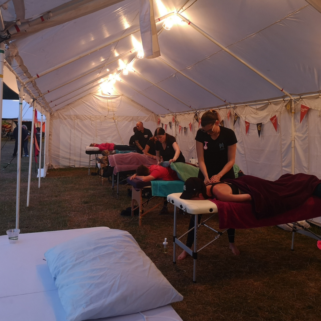 Massage at TrekFest 2019