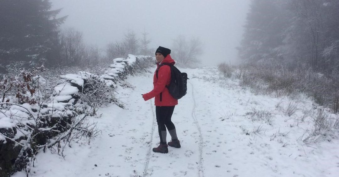 Louise Takes on TrekFest The Peaks for Dementia UK!