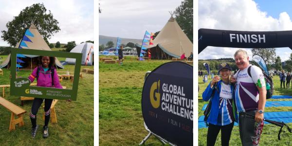 Participants taking part in TrekFest 2019