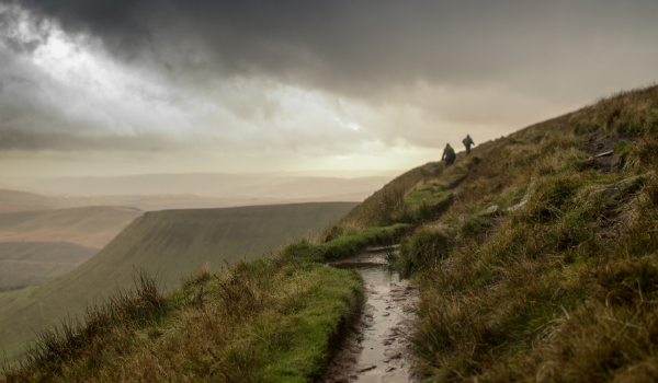 Views of the Brecon Beacons National Park